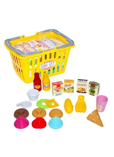 Birlik Oyuncak Birlik Oyuncak Urt013605 20 Parça Piknik Sepeti Renkli